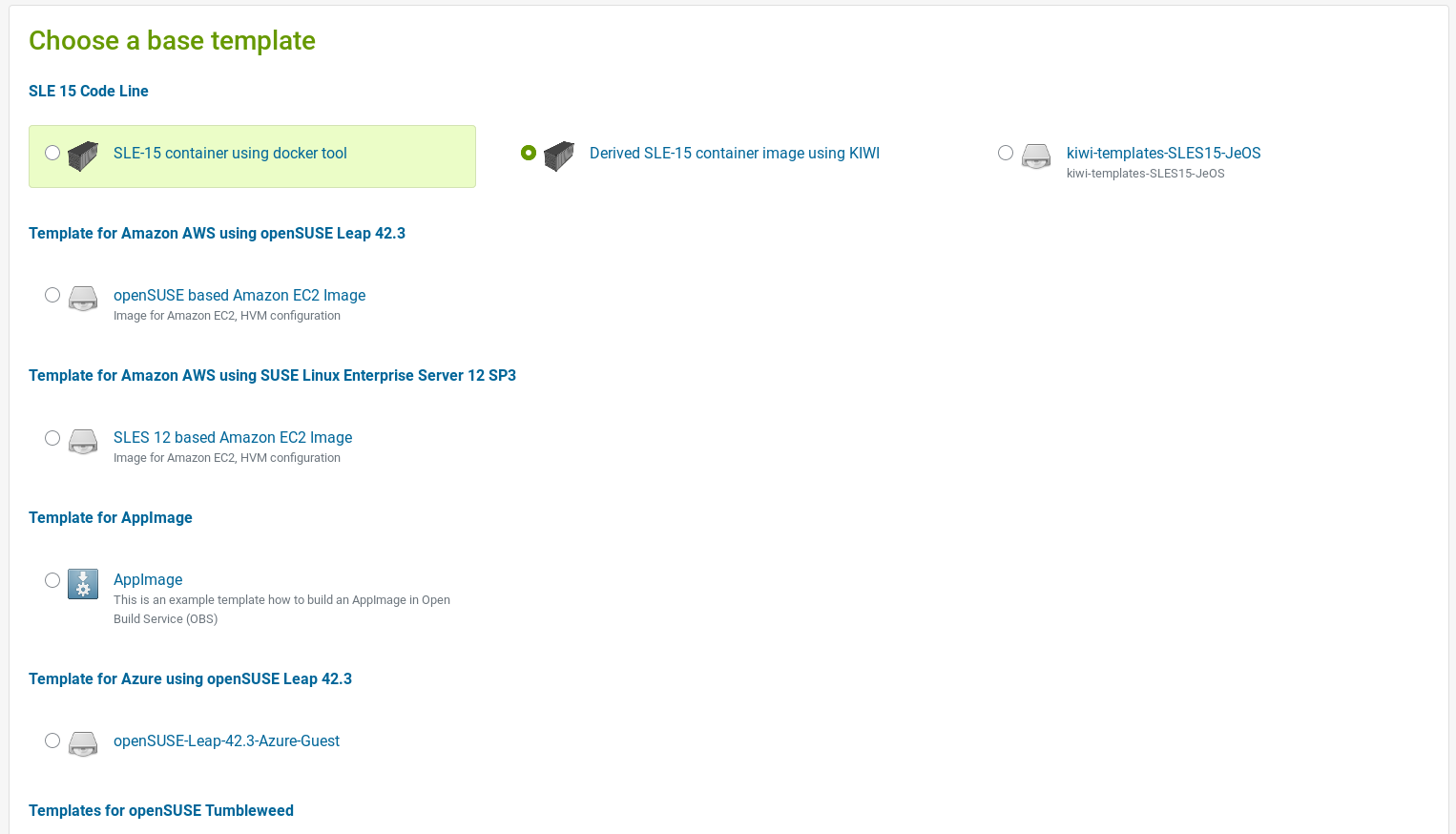 The Search and Kiwi Editor Pages Are Now Part of the